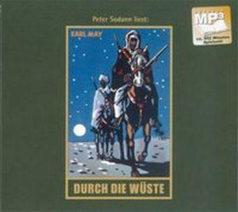 Gesammelte Werke, MP3-CDs: Bd.1 Durch die Wüste, 1 MP3-CD, Karl May