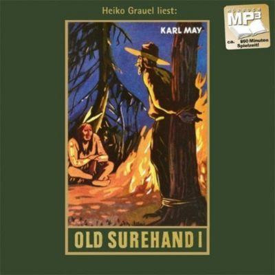 Gesammelte Werke, MP3-CDs: Bd.14 Old Surehand, 1 MP3-CD, Karl May