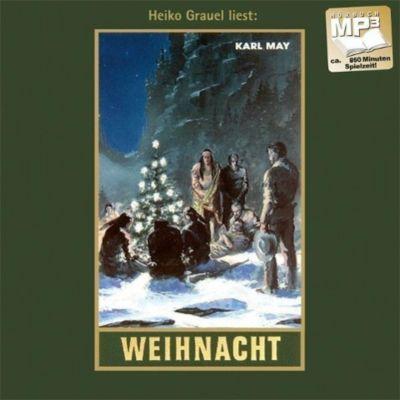 Gesammelte Werke, MP3-CDs: Bd.24 Weihnacht, 1 MP3-CD, Karl May