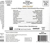 Gesamtaufnahme (Aufnahme Live Theatre du Chalet 1997) - Produktdetailbild 1