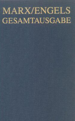 Gesamtausgabe (MEGA): Bd.13 Karl Marx: Das Kapital. Kritik der politischen Ökonomie. Hamburg 1885. Zweiter Band., Karl Marx