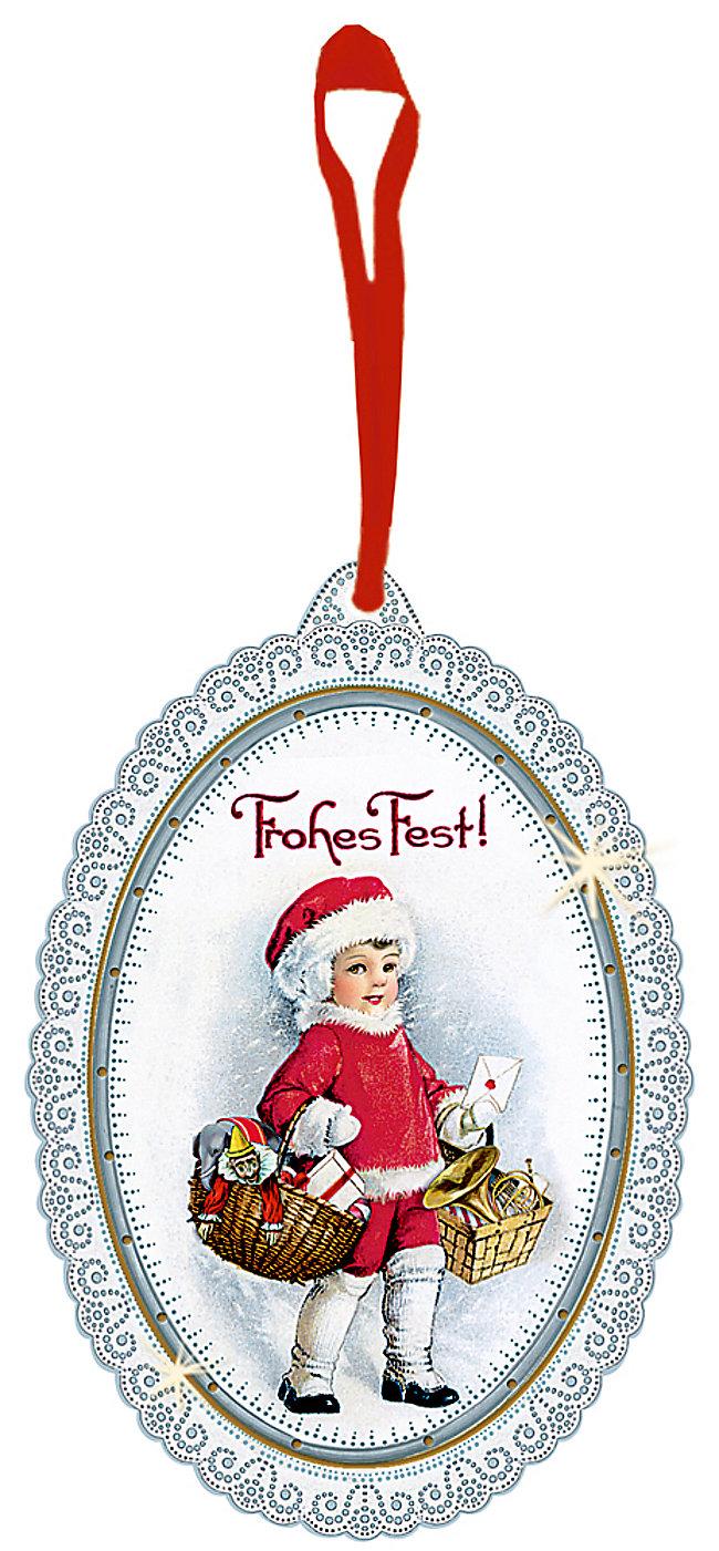 Geschenkanhänger-Set - Nostalgische Weihnachten | Weltbild.de