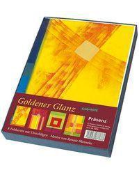 Geschenkbox Goldener Glanz