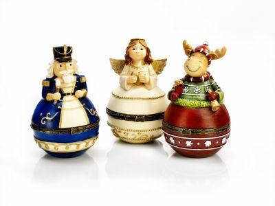 Geschenkdosen Weihnacht, 3er-Set