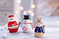 """Geschenkdosen """"Weihnachten"""", 3er-Set - Produktdetailbild 1"""