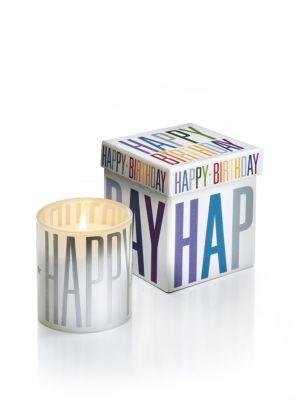 Geschenkkerze Happy Birthday mit Musik