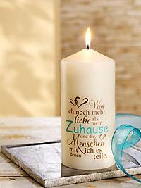 """Geschenkkerze """"Zuhause"""" - Produktdetailbild 1"""