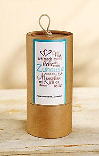"""Geschenkkerze """"Zuhause"""" - Produktdetailbild 2"""