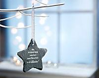 """Geschenkset """"Stern"""" aus Schiefer - Produktdetailbild 1"""