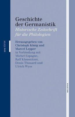 Geschichte der Germanistik
