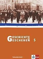 Geschichte und Geschehen, Ausgabe D für Sachsen, Neubearbeitung: Bd.5 Schülerband, m. Themenheft