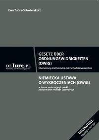 Gesetz über Ordnungswidrikeiten OWiG, Ewa Tuora-Schwierskott