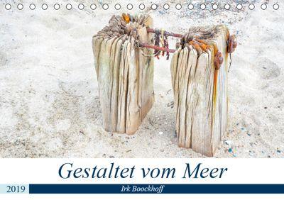 Gestaltet vom Meer (Tischkalender 2019 DIN A5 quer), Irk Boockhoff