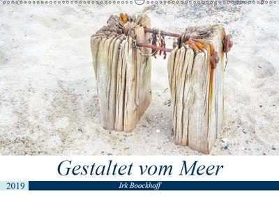 Gestaltet vom Meer (Wandkalender 2019 DIN A2 quer), Irk Boockhoff