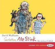 Gestatten, Mr. Stink, 2 Audio-CDs, David Walliams