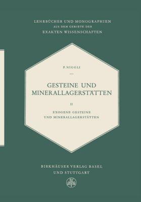 Gesteine Und Minerallagerstätten, Paul Niggli
