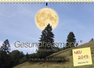 Gesundheitsmond®-Mondkalender 2019, Michael Römer