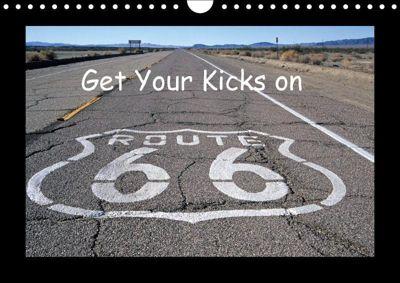 get your kicks on route 66 wandkalender 2018 din a4 quer. Black Bedroom Furniture Sets. Home Design Ideas
