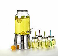 Getränkespender inkl. 4 Gläsern - Produktdetailbild 1