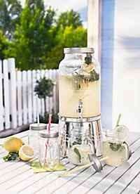 Getränkespender inkl. 4 Gläsern - Produktdetailbild 2