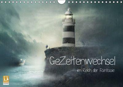 GeZeitenwechsel im Reich der Fantasie (Wandkalender 2019 DIN A4 quer), Brigitte Kuckenberg-Wagner