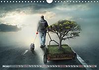 GeZeitenwechsel im Reich der Fantasie (Wandkalender 2019 DIN A4 quer) - Produktdetailbild 5