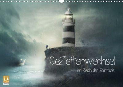 GeZeitenwechsel im Reich der Fantasie (Wandkalender 2019 DIN A3 quer), Brigitte Kuckenberg-Wagner