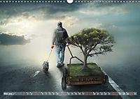 GeZeitenwechsel im Reich der Fantasie (Wandkalender 2019 DIN A3 quer) - Produktdetailbild 5