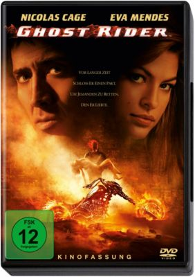 Ghost Rider, Dvd-action