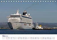 Giganten der Meere - Kreuzfahrtschiffe (Tischkalender 2019 DIN A5 quer) - Produktdetailbild 3