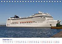 Giganten der Meere - Kreuzfahrtschiffe (Tischkalender 2019 DIN A5 quer) - Produktdetailbild 12