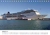 Giganten der Meere - Kreuzfahrtschiffe (Tischkalender 2019 DIN A5 quer) - Produktdetailbild 1
