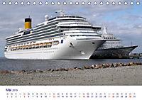Giganten der Meere - Kreuzfahrtschiffe (Tischkalender 2019 DIN A5 quer) - Produktdetailbild 5