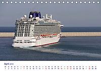 Giganten der Meere - Kreuzfahrtschiffe (Tischkalender 2019 DIN A5 quer) - Produktdetailbild 4