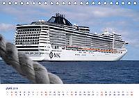 Giganten der Meere - Kreuzfahrtschiffe (Tischkalender 2019 DIN A5 quer) - Produktdetailbild 6