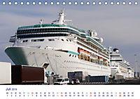 Giganten der Meere - Kreuzfahrtschiffe (Tischkalender 2019 DIN A5 quer) - Produktdetailbild 7