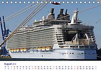 Giganten der Meere - Kreuzfahrtschiffe (Tischkalender 2019 DIN A5 quer) - Produktdetailbild 8