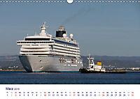 Giganten der Meere - Kreuzfahrtschiffe (Wandkalender 2019 DIN A3 quer) - Produktdetailbild 3