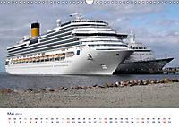 Giganten der Meere - Kreuzfahrtschiffe (Wandkalender 2019 DIN A3 quer) - Produktdetailbild 5