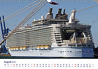 Giganten der Meere - Kreuzfahrtschiffe (Wandkalender 2019 DIN A3 quer) - Produktdetailbild 8