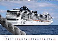 Giganten der Meere - Kreuzfahrtschiffe (Wandkalender 2019 DIN A3 quer) - Produktdetailbild 6