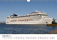 Giganten der Meere - Kreuzfahrtschiffe (Wandkalender 2019 DIN A4 quer) - Produktdetailbild 12
