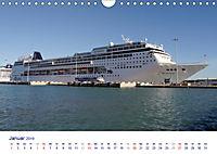 Giganten der Meere - Kreuzfahrtschiffe (Wandkalender 2019 DIN A4 quer) - Produktdetailbild 1