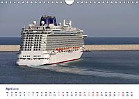 Giganten der Meere - Kreuzfahrtschiffe (Wandkalender 2019 DIN A4 quer) - Produktdetailbild 4
