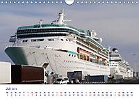 Giganten der Meere - Kreuzfahrtschiffe (Wandkalender 2019 DIN A4 quer) - Produktdetailbild 7