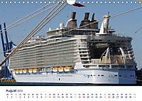 Giganten der Meere - Kreuzfahrtschiffe (Wandkalender 2019 DIN A4 quer) - Produktdetailbild 8