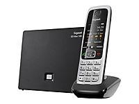 GIGASET C430A GO schwarz schnurlos analog und ALL-IP-fähig für bis zu 6 Telefonnrn. 3 integr. AB mit Min. 55 Aufnah. TFT-Farbdisplay - Produktdetailbild 5