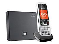 GIGASET C430A GO schwarz schnurlos analog und ALL-IP-fähig für bis zu 6 Telefonnrn. 3 integr. AB mit Min. 55 Aufnah. TFT-Farbdisplay - Produktdetailbild 4