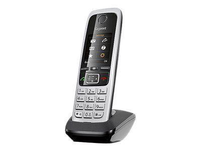 GIGASET C430HX schwarz zus. Mobilteil inkl. LS CAT-iq für Router zB.Speedport W723 W724, HomeBox 2, TP-Link VR200V, TP-LinkVR