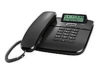 GIGASET DA610 schwarz schnurgebunden analog mit Display Freisprechfunktion CLIP Telefonbuch für bis zu 50 Einträge - Produktdetailbild 3